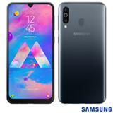 Samsung Galaxy M30 Preto, com Tela de 6,4', 4G, 64GB e Câmera Tripla de 13.0 MP + 5.0 MP + 5.0 MP (UW) - SM-M305M ZKJZTO