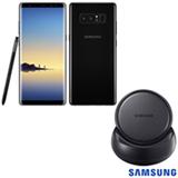 """Samsung Galaxy Note8 Preto, com Tela de 6,3"""", 4G, 128 GB e Câmera de 12+12 MP - SM-N950F"""