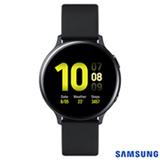 Galaxy Watch Active2 Samsung Preto com 1,4', Pulseira de Fluorelastômero, Wi-Fi, Bluetooth, NFC e 4GB