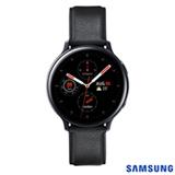 Galaxy Watch Active2 LTE Samsung Preto com 1,4', Pulseira de Couro, 4G, Wi-Fi, Bluetooth, NFC e 4GB