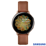 Galaxy Watch Active2 LTE Samsung Rosa com 1,2', Pulseira de Couro, 4G, Wi-Fi, Bluetooth, NFC e 4GB