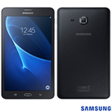 "Tablet Samsung Galaxy Tab A Preto com 7"", Wi-Fi + 4G, Android 5.1, Processador Quad-Core e 8GB"