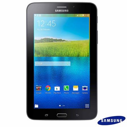 Tablet Samsung Galaxy Tab E Preto com 7, Wi-Fi, Android 4.4, Processador Quad-Core 1.3 GHz e 8 GB, Preto, 0000007.00, Sim, 08 GB, Wi-Fi, 2.0 MP, 1, N, Sim, 12 meses, Sim, 126310, Quad Core, Não, Android, Não, Até 10'', 7'', TFT, SAMSUNG, QUAD-CORE, 000008, Android, 0000007.00, 7 Polegadas