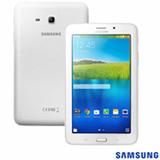 Tablet Samsung Galaxy Tab E Branco com 7, 3G, Wi-Fi, Android 4.4, Processador Quad Core 1.3 GHz e 8 GB