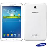 "Tablet Samsung Galaxy Tab 3 Branco com 7"", Wi-Fi, Android 4.1, Processador Dual Core 1.2 Ghz e 08 GB"