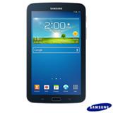 "Tablet Samsung Galaxy Tab 3 Preto com 7"", Wi-Fi, Android 4.1, Processador Dual Core 1.2 Ghz e 08 GB"
