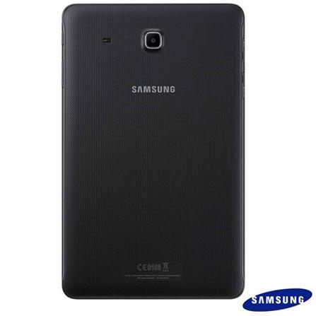 Tablet Samsung Galaxy Tab E Preto com 9,6, Wi-Fi, Android 4.4, Processador Quad-Core 1.3 GHz e 8 GB, Preto, 0000009.60, Sim, 08 GB, Wi-Fi, 5.0 MP, 1, N, Sim, 12 meses, Sim, 126310, Quad Core, Sim, Android, Não, Até 10'', 9.6'', TFT, SAMSUNG, QUAD-CORE, 000008, Android, 0000009.60, 9.6 Polegadas