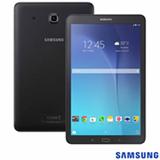 Tablet Samsung Galaxy Tab E Preto com 9,6', 3G, Wi-Fi, Android 4.4, Processador Quad-Core 1.3 GHz e 08 GB