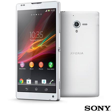 Smartphone Sony Xperia ZQ Branco, Processador S4, 4G e Wi-Fi + Smartphone Sony Xperia E Dual Chip Preto, Android, 3G e Wi-Fi, 0, Android acima de 4''