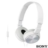Fone de Ouvido Sony Headphone Branco - MDR-ZX310APW