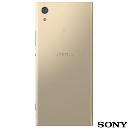 """Xperia XA1 Dourado Sony com Tela de 5"""", 4G, 32 GB e Câmera de 23 MP - XPERIAXA1, Dourado, 0000005.00, True, 1, N, True, True, True, True, True, True, I, Xperia XA1, Android, Wi-Fi + 4G, 5'', Acima de 4'', Sim, Media Tek MT6757, 32 GB, 23.0 MP, 2, Não, Sim, Sim, Sim, Sim, 12 meses, Nano Chip"""