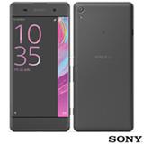 """Xperia XA Preto Sony com Tela de 5"""", 4G, 16 GB e Câmera de 13 MP - F3116"""
