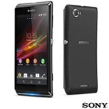 """Smartphone Sony com Android 4.1, Processador 1 GHz, Tela 4,3"""", 3G, Wi-Fi, Bluetooth, Câmera 8 MP, Preto  - Xperia L - Desb Vivo"""