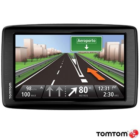 Navegador GPS Tom Tom Via 1600 com Tela de 5