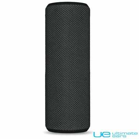 Caixa de Som Bluetooth UE Boom Preto - Ultimate Ears, Bivolt, Bivolt, Preto, Caixas Portáteis, Sim, 12 W, Sim, Não, iOS e Android, 24 meses