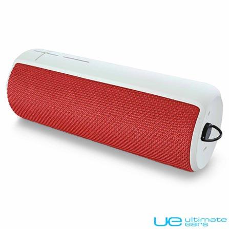 Caixa de Som Bluetooth UE Boom Vermelho - Ultimate Ears, Bivolt, Bivolt, Vermelho, Caixas Portáteis, Sim, Não especificado, Sim, Não, iOS e Android, 24 meses