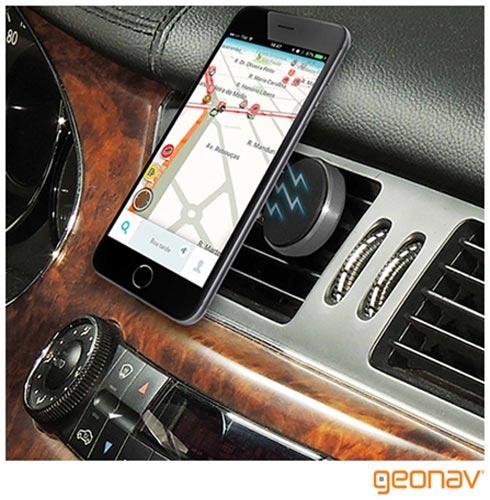 Zenfone 3 Zoom Preto Asus, 5,5, 4G, 128GB, 2 Cameras de 12MP - ZE553KL + Suporte Veicular Preto - Geonav - SUPMAG2, 1