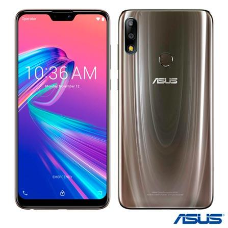 Celular Smartphone Asus Zenfone Max Pro M2 Zb631kl 128gb Titânio - Dual Chip