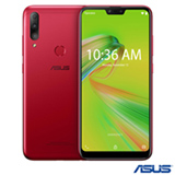 Zenfone Max Shot Vermelho Asus, com Tela de 6,2', 4 GB, 64 GB e Câmera Tripla de 12MP + 5MP + 8MP - ZB634KL-4C007BR
