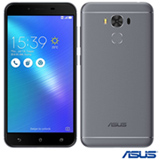 "Zenfone 3 Max Cinza Asus, com Tela de 5,5"", 4G, 32 GB e Câmera de 16 MP - ZC553KL"