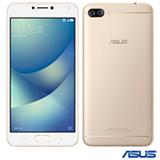 """Zenfone 4 Max Dourado Asus, com Tela de 5,5"""", 4G, 32 GB e Câmera Dual de 13+5MP - ZC554KL-4G014BR"""
