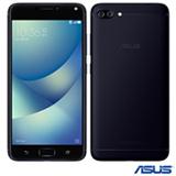 """Zenfone 4 Max Preto Asus, com Tela de 5,5"""", 4G, 32 GB e Câmera Dual de 13+5MP - ZC554KL-4A013BR"""