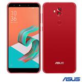 """Zenfone 5 Selfie Vermelho Asus, com Tela de 6"""", 4G, 64 GB e Câmera Dual de Dual 16+8MP - ZC600KL1"""
