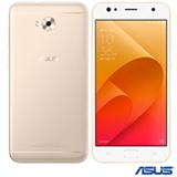"""Zenfone 4 Selfie Dourado Asus, com Tela de 5,5"""", 4G, 64 GB, 4GB de Memória RAM e Câmera de 20+8 MP – ZD553KL4"""