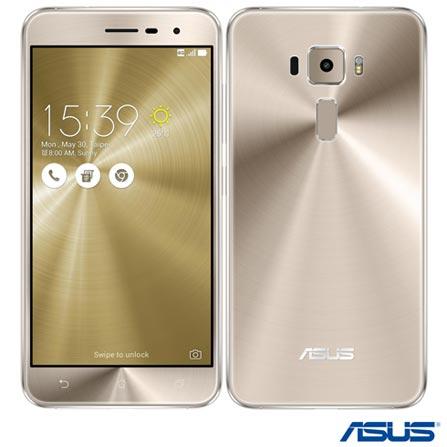 """Zenfone 3 Dourado Asus, com Tela de 5,2"""", 4G, 32 GB e Câmera de 16 MP - ZE520KL, Bivolt, Bivolt, Dourado, 0000005.20, True, 1, N, True, True, True, True, True, True, I, Zenfone 3, Android, Wi-Fi + 4G, 5.2'', Acima de 4'', Sim, Qualcomm Snapdragon 8953, 32 GB, 16.0 MP, 2, Não, Sim, Sim, Sim, Sim, 12 meses, Micro Chip"""