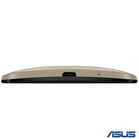 Zenfone 2 Dual Dourado Asus, com Tela de 5,5