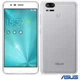 """Zenfone 3 Zoom Prata Asus, com Tela de 5,5"""", 4G, 128 GB e 2 Câmeras de 12 MP - ZE553KL"""