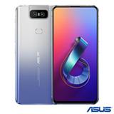 """Zenfone 6 Silver Asus, com Tela de 6,4"""", 4G, 128 GB e Câmera Flip 48+13MP – ZS630KL"""