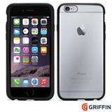 Capa para iPhone 6s Reveal de Plástico Preta Griffin - GB39040