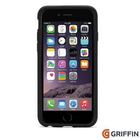 Capa para iPhone 6 Reveal de Plastico Preta Griffin - GB39040, Preto, Capas e Protetores, 06 meses