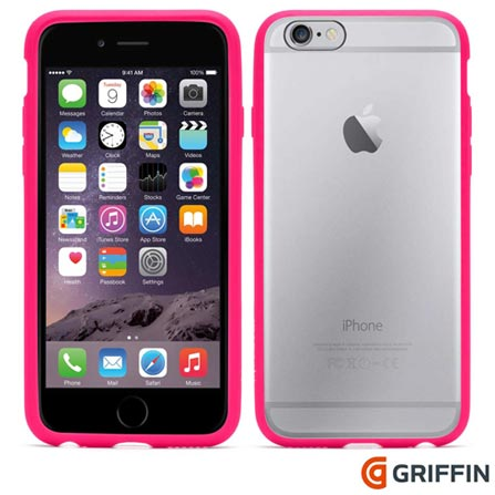 Capa para iPhone 6 Reveal de Plástico Rosa Griffin - GB39194, Rosa, Capas e Protetores, 06 meses