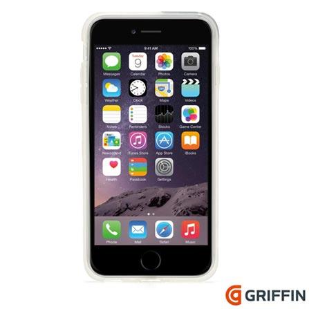 Capa para iPhone 6 Plus Identity de Plástico Transparente Griffin - GB40411, Não se aplica, Capas e Protetores, 06 meses