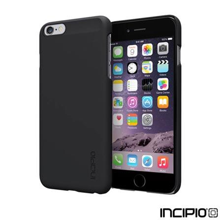 Capa para iPhone 6 Plus Feather de Plástico Preta Incipio - IPH-1193-BLK, Capas e Protetores, 06 meses