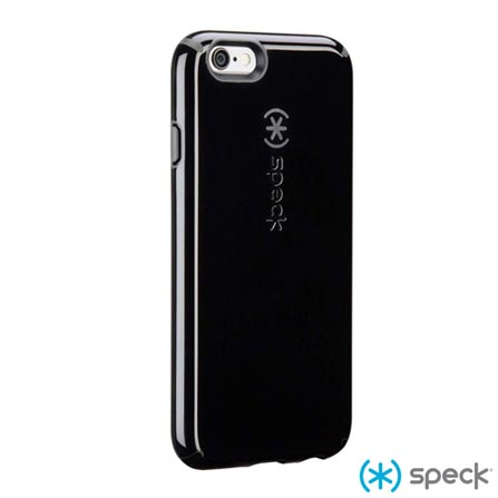 Capa para iPhone 6 CandyShell de Plástico Preta SPECK - SPK-A3041, Capas e Protetores, 06 meses