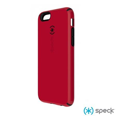 Capa para iPhone 6 CandyShell de Plástico Vermelha SPECK - SPK-A3044, Vermelho, Capas e Protetores, 06 meses