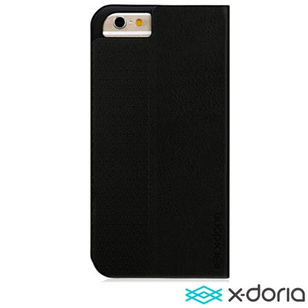 Capa para iPhone 6 Dash Folio Preta X Doria - 427500, Preto, Capas e Protetores, 06 meses