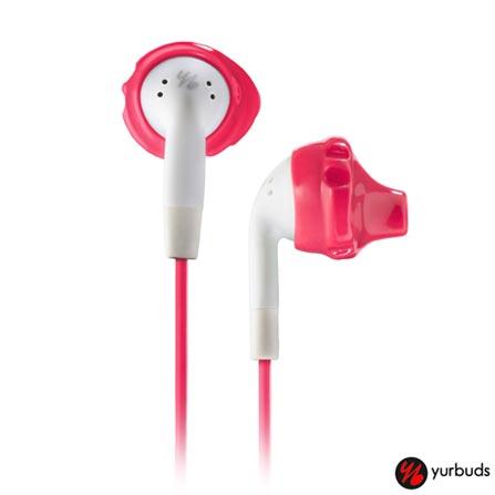 Fone de Ouvido Yurbuds Intra-Auricular Branco e Rosa - Inspire100, Branco e Rosa, Intra-auricular, 12 meses
