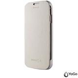 Capa Protetora e Carregadora Yogo Para Galaxy S4, Cor Branca YG1202WHT