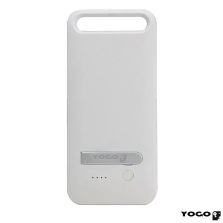 Capa Protetora e Carregadora para iPhone 5c Branca - Yogo - 1301WHT, Branco, Capas e Protetores, 06 meses