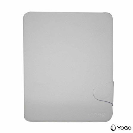 Capa para iPad Mini Fólio em Couro Branca Yogo, Branco