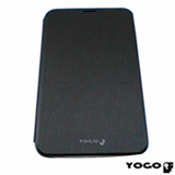 Capa Flip Cover Yogo em Neoprene Preto para Galaxy Tab III 7.0