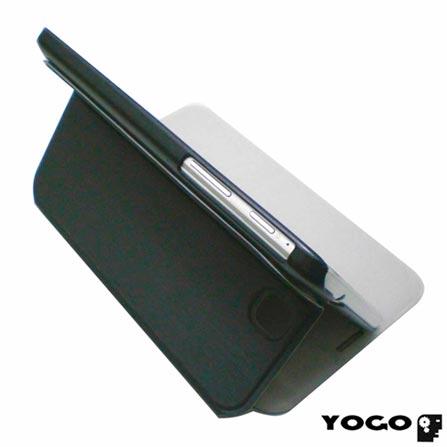 Capa Flip Cover Yogo em Neoprene Preto para Galaxy Tab III 7.0, Preto, Neoprene, 06 meses