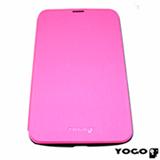 Capa Flip Cover para Galaxy Tab III 7.0 em Neoprene Rosa - Yogo - 7300PNK