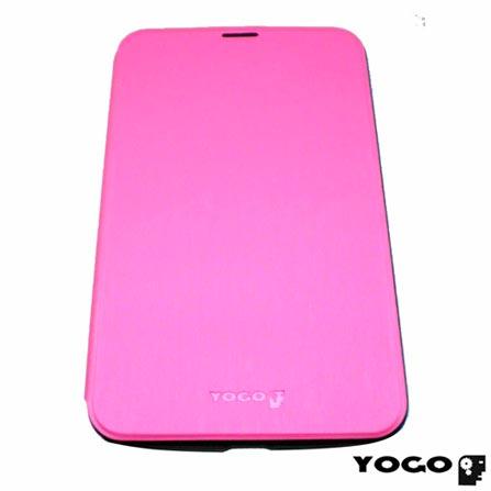 Capa Flip Cover para Galaxy Tab III 7.0 em Neoprene Rosa - Yogo - 7300PNK, Rosa, Capas e Protetores, Neoprene, 06 meses