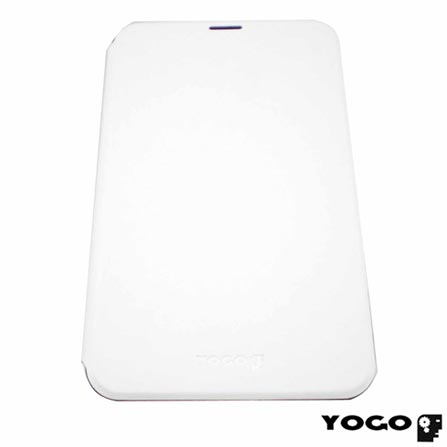 Capa Flip Cover para Galaxy Tab III 7.0 em Neoprene Branco - Yogo - YG7300WHT, Branco, Capas e Protetores, Neoprene, 06 meses