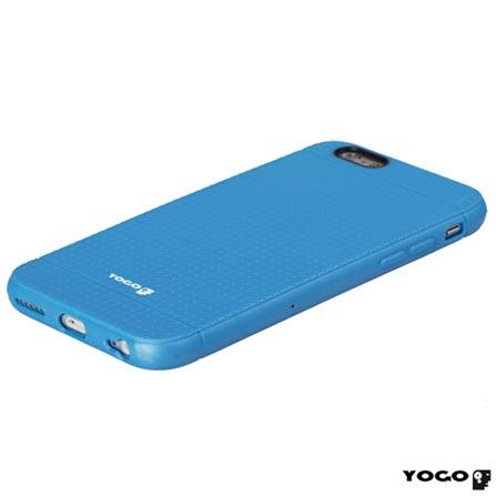 Capa Protetora para iPhone 6 de Plástico Flexível Azul - I6-003BLU, Azul, 06 meses